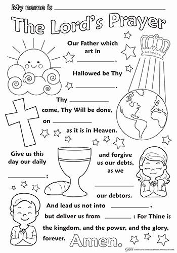Lords Prayer Coloring Page New 4606 Best Sunday School Images On Pinterest In 2020 Sunday School Kids Sunday School Activities Childrens Church Lessons