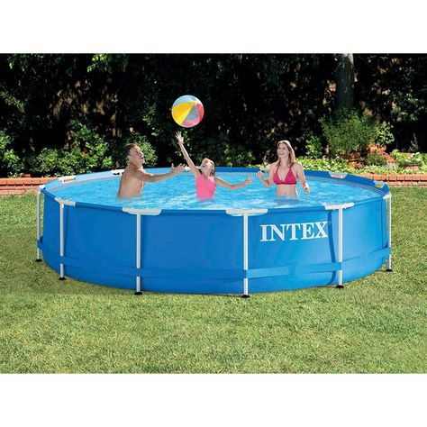 Piscine Tubulaire Metal Frame Ronde 4 57 X 0 84 M Intex