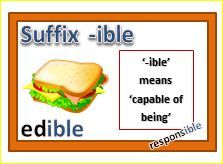 #Suffixes   I created these cards for my students (third graders). Each card has a different suffix, examples of root word + suffix, an illustration of the word and a definition of the #suffix used. There are a total of twenty-four cards in the set.