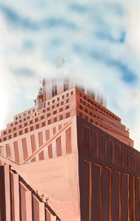 Ninrode E Seus Homens Constroem A Torre De Babel Tower Of Babel