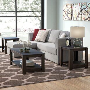 Williston Forge Rutland 3 Piece Coffee Table Set Wayfair In 2020 Living Room Table Sets Cheap Living Room Sets 3 Piece Coffee Table Set