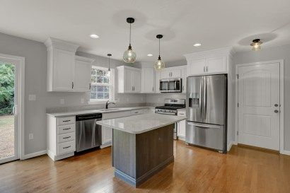 Richmond Fine Line Homes Kitchen Design Gallery Agreeable Gray Sherwin Williams Agreeable Gray Sherwin Williams Kitchen