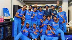 U 19 2018 Cricket Word Cup Winner India Best Played By Under 19 Indian Boys In Newzealand 03 Feb 2018 India Win By 8 Wicketangainst Austril India Win World Cup