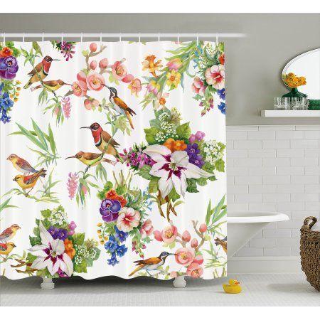 Home Floral Shower Curtains Bathroom Sets Curtains