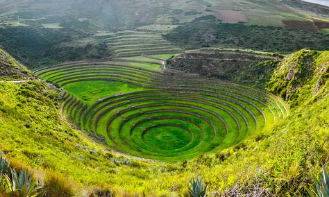 Terrazas Agricolas De Moray Peru Cheap Places To Visit