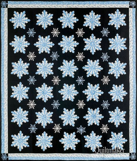Quiltmakers Jan/Feb 15 Issue   dresden snowflake