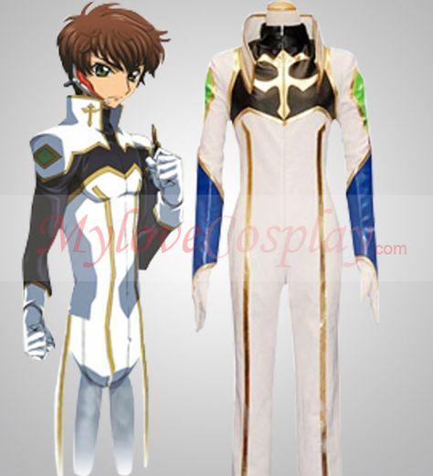 Code Geass Suzaku Cosplay Costume on sale