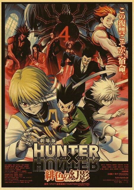 Hunter x Hunter Retro Posters - 42X30 CM / E170 8