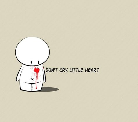 don't cry little heart ... don't cry ... - #heart #crow #Small #not -  - #crow #Cry #don39t #heart #Small