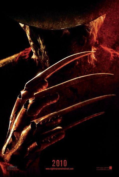 A Nightmare On Elm Street Movie Poster A Hora Do Pesadelo