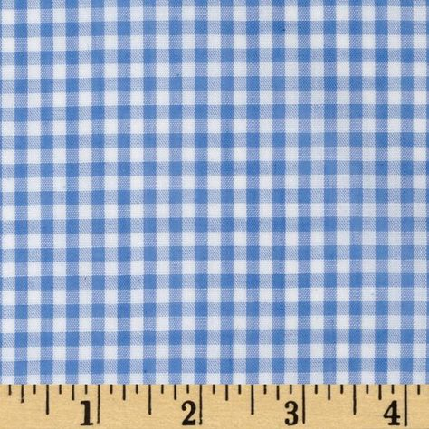 Width Width 1 8 Gingham Check Blue Gingham Fabric Shirting