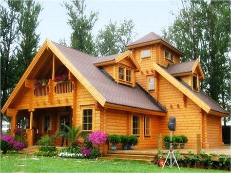 desain rumah kayu   desain exterior rumah, rumah balok