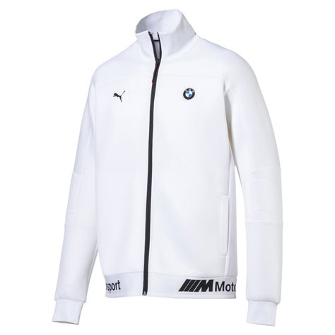 264f6108 BMW MMS Life Zip-Up Men's Sweat Jacket | Puma White | PUMA Motorsport Looks  | PUMA United States