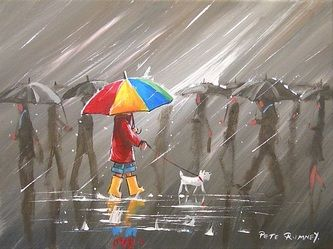 By Pete Rumney. Be the touch of colour in a world of gray.