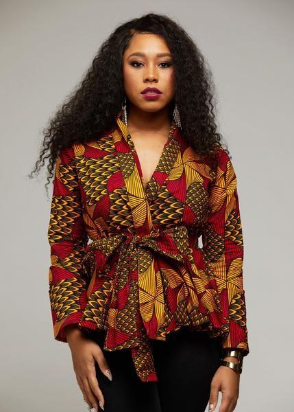 African Print Tops African Clothing From D Iyanu D Iyanu