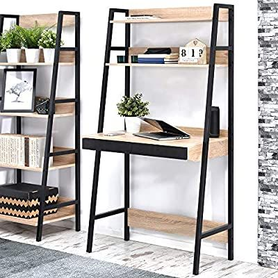 bureau scandinave 85 cm noir