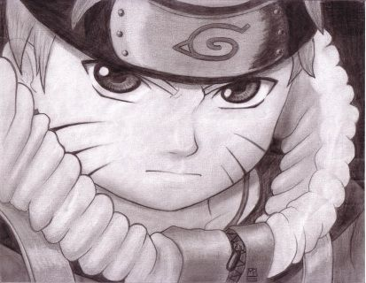 Hyuuga Hinata Naruto japanese anime black and white kawaii