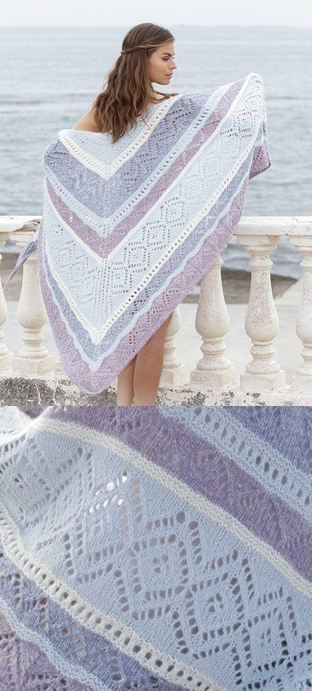 Simple Crochet Shawl Patterns Free Patterns