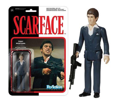 Funko ReAction: Scarface - Tony Montana Toy Figure