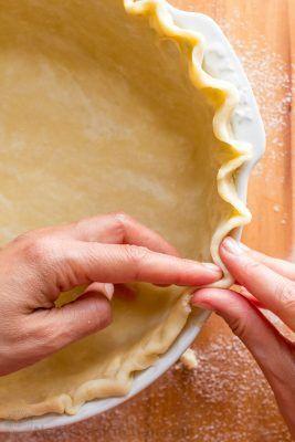 Easy Pie Crust Recipe Video Natashaskitchen Com Homemade Pie
