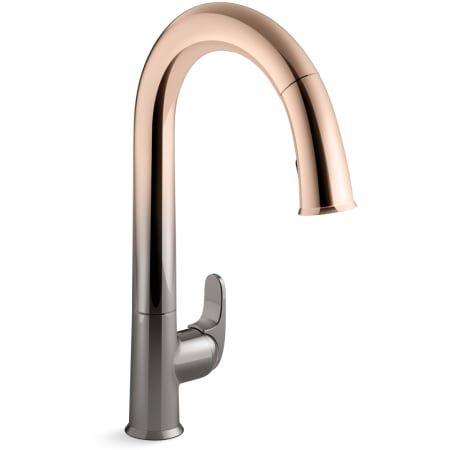 Kohler K 72218 Touchless Kitchen Faucet Gold Kitchen Faucet