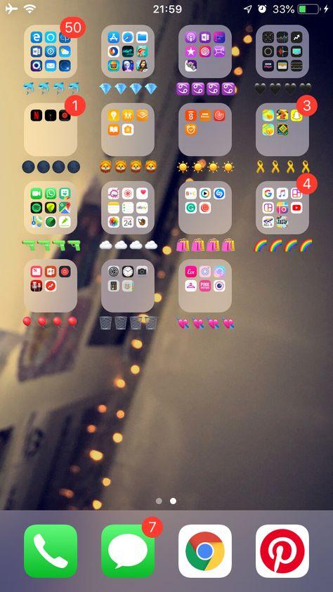 Organised phone | aesthetically pleasing | laylaaandrews 💘