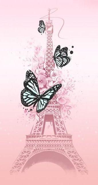 خلفيات برج ايفل بأعلي جودة Hd Butterfly Wallpaper Cute Wallpapers Paris Wallpaper