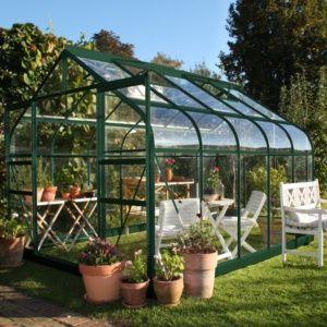 Choisir sa serre de jardin en verre | serre de jardin | Serre jardin ...