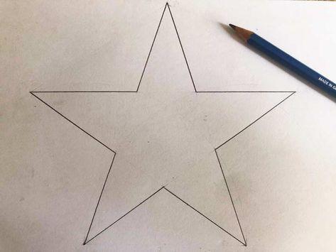 Come Si Disegna Una Stella Di Natale.Come Disegnare Una Stella Perfetta A 5 Punte Immagini Disegni