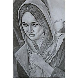 جميع آعمال الرسام وائل النجفي بالقلم الرصاص والالوان الخشبية مدونة رسم بالرصاص Art Female Sketch Female