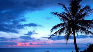 احلي خلفيات سطح المكتب للكمبيوترات وأجملها علي الاطلاق Blue Sunset Beach Sunset Wallpaper Sunset Landscape