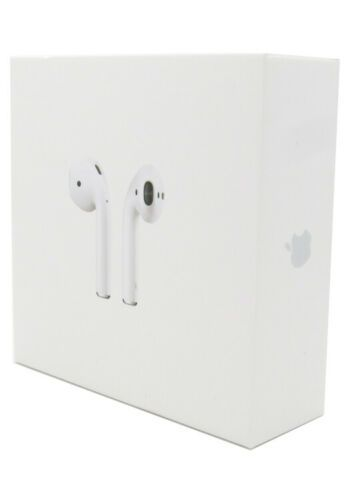 Apple Airpods 2nd Generation Wireless Earbuds Charging Case Mv7n2am A H1 Apple Airpods 2 Earbuds Wireless Earbuds