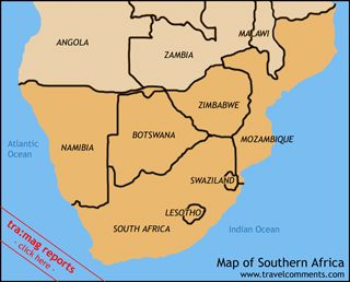 South Africa Map And Surrounding Countries Learn More About Africa - South africa map countries