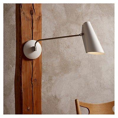 Birdy Wall Lamp Long Arm Grey The Conran Shop Wall Lights Wall Lamp Ceramic Wall Lights