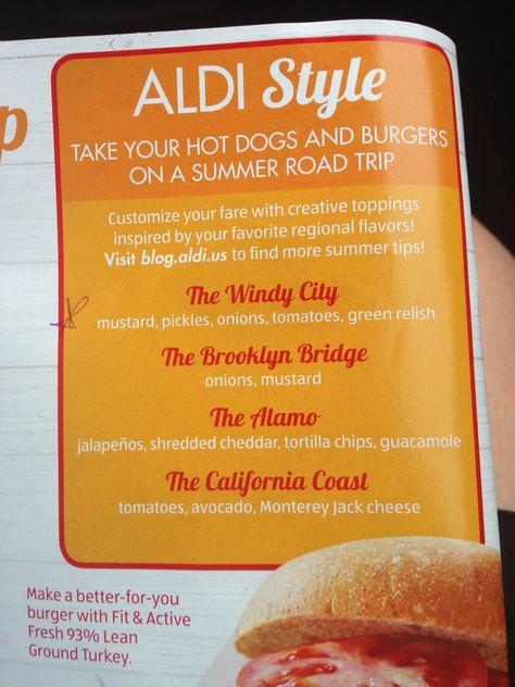 aldi hot dogs pork ham turkey sausage sausage www pinterest com