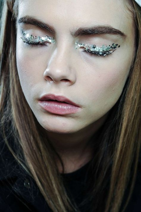 We're all about crystal on your arms. Why not crystals on your eyes?