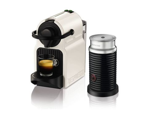 Nespresso Inissia Coffee Capsule Machine With Aeroccino3 By