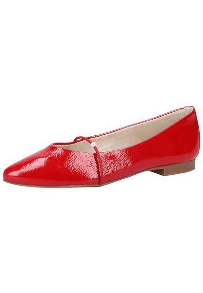Paul Green Ballerinas rot #schuhe #fashion #shoes