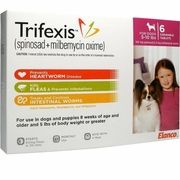 Trifexis For Dogs 5 10 Lbs 6 Chew Tabs Na Pets Dogs Pharmacy