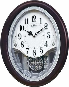 Rhythm Small World Crystal Delight Musical Motion Clock Clock Rhythm Clocks Unique Clocks