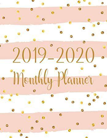 Read Book 2019 2020 Monthly Planner Two Year Monthly Calendar Planner 24 Months Jan 2019 Calendar Monthly Planner Planner Calendar Schedule Organization