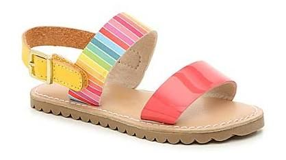 Girls Rainbow Colorful Sandals Toddler Sandals Girl Kids Sandals Toddler Sandals