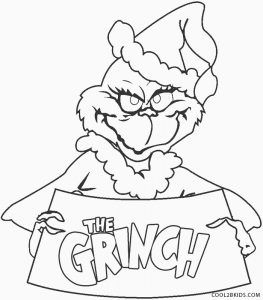 Free Printable Grinch Coloring Pages For Kids In 2020 Grinch Coloring Pages Christmas Coloring Sheets Disney Coloring Pages