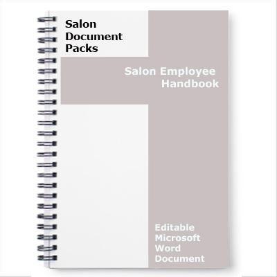 salon employee manual Free hair salon employee handbook Salons - free employee training manual template