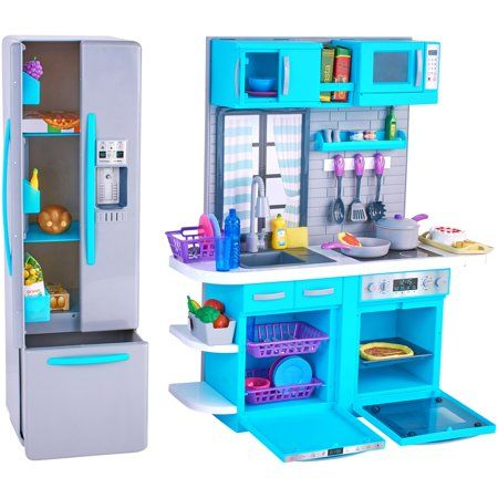 My Life As Kitchen Play Set For 18 Doll 64 Pieces Walmart Com My Life Doll Accessories Playset Battery Operated Toys