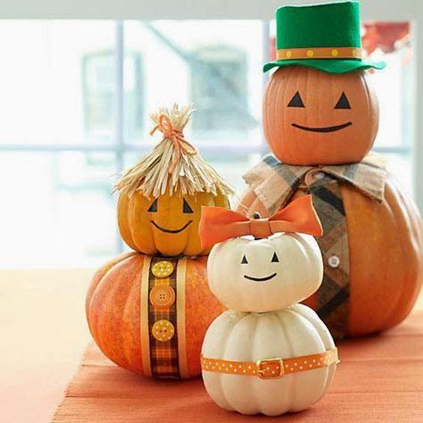 Top Ten Pumpkin Decorating Ideas For A Halloween Party Fun Themed Party Ideas Diy Halloween Decorations Halloween Crafts Pumpkin Family