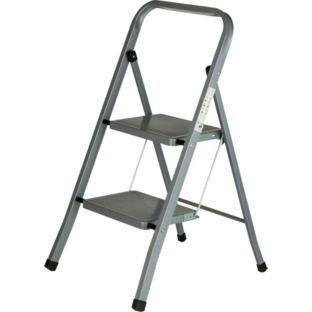 Sensational Buy Argos Value Range 2 Step Steel Ladder At Argos Co Uk Ibusinesslaw Wood Chair Design Ideas Ibusinesslaworg