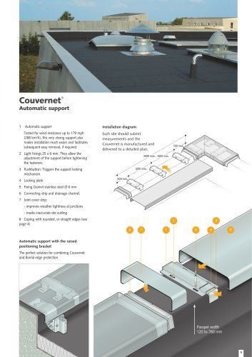 Couvernet Reg Roof Construction Roof Edge External Wall Insulation