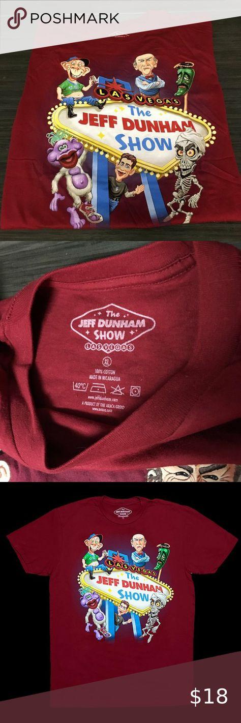 Jeff Dunham Las Vegas Short Sleeve Cotton T-Shirt