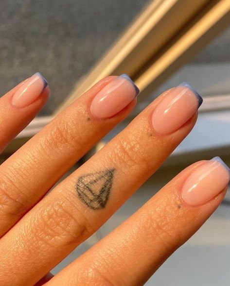 French Manicure Nails Art Design
